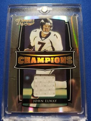 Donruss Sports Legends Champions jersey card John Elway /250!!! for Sale in Sun City, AZ