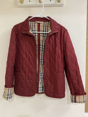 BURBERRY LONDON Women's Quilted Full Zip Pockets Jacket for Sale in San Diego, CA