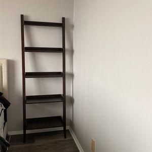 Java Wood 5-Shelf Ladder Bookcase -set Of 2 for Sale in Gaithersburg, MD