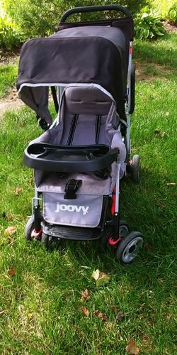 Double Stroller W/Seat Attachment & Tray for Sale in OH,  US