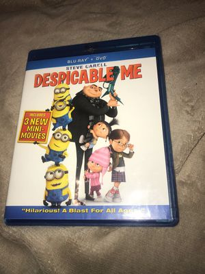 Despicable me minions movie DVD and digital disc only (no Blu-ray) for Sale in Westford, MA