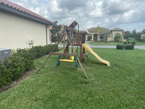 Toys are US swing set for Sale in Lakewood Ranch, FL