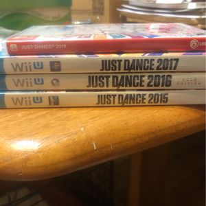 Just Dance Wii U And For The Switch for Sale in Chicago, IL