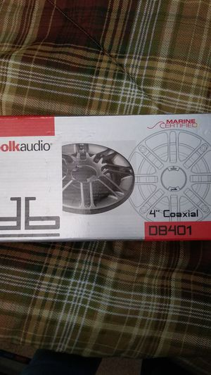 """Polk audio 4"""" coaxial marine certified for Sale in Fort Myers, FL"""