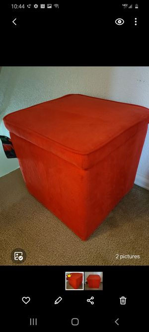 Storage ottoman for Sale in Sheridan, CO