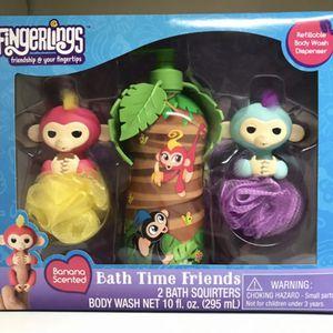 FINGERLINGS BATH TIME FRIENDS GIFT SET for Sale in Los Angeles, CA