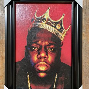 Notorious B. I. G. Wall Decor 21.5x15.5 inches for Sale in Camarillo, CA