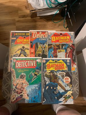 DC comic book lot of 9 vintage Batman Detective comics for Sale in Ontario, CA