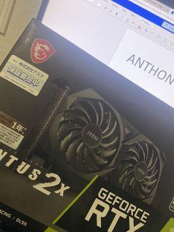 MSI Nvidia 3060 Ventus 2x for Sale in Orlando,  FL