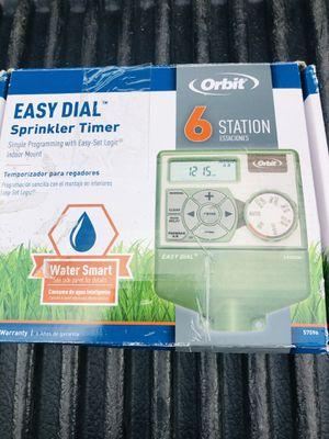 Orbit sprinkle irrigation timer new for Sale in Glendale, AZ