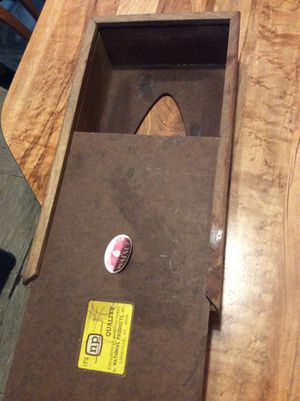 Wooden Tissue box holder for Sale in Philadelphia, PA
