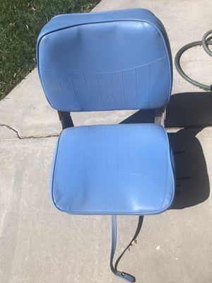 Boat Swivel Seats - three, 2 used @40 ea. , new one in box @$50 for Sale in Lancaster, CA