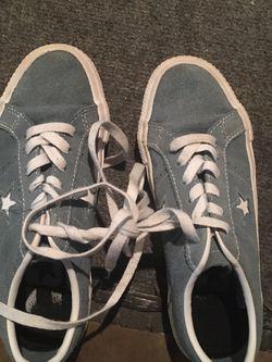 Converse Blue Shoes Size 5.5 Women for Sale in Lascassas,  TN