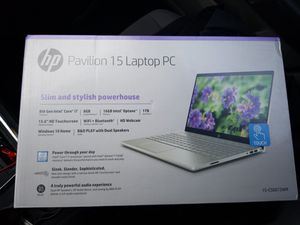 """HP Pavilion 15 Laptop 15.6"""" Touchscreen, Intel Core i7-8550U , 1TB HDD + 16GB Intel Optane memory, 8GB SDRAM for Sale in Beaumont, TX"""
