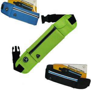 Gear Running Belt, Bounce Free Pouch Bag, Fanny Pack Workout Belt Sports Waist Pack Belt Pouch f for Sale in Miami, FL