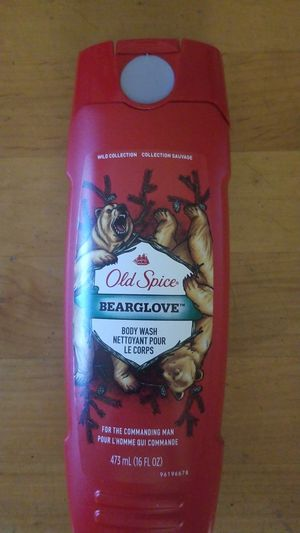 Old spice body wash bearglove for Sale in Glendale, AZ
