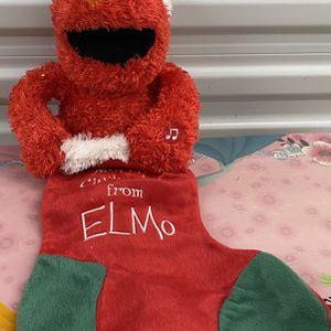 Sesame Street Christmas Elmo Stocking for Sale in Wylie, TX