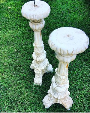 Tall candle holders. for Sale in Fresno, CA