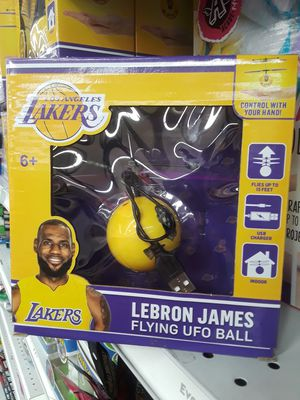 LA Lakers Labron James Flying UFO Ball Helicopter for Sale for sale  Montebello, CA