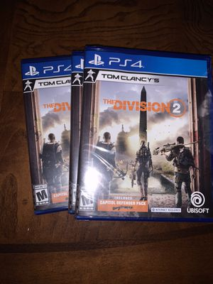 Ps4 game The division (Brand new ) for Sale in Acworth, GA