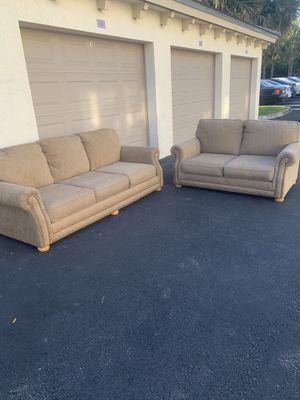 Sofa and loveseat - delivery is negotiable for Sale in Coconut Creek, FL