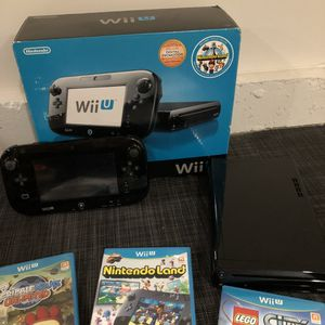 Wii U Deluxe Set With Nintendo Land for Sale in Boring, OR