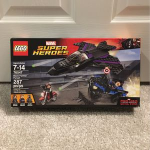 Lego Black Panther Set for Sale in New Port Richey, FL