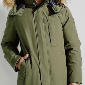 Guess Furhooded Coat for Sale in Elkins, WV