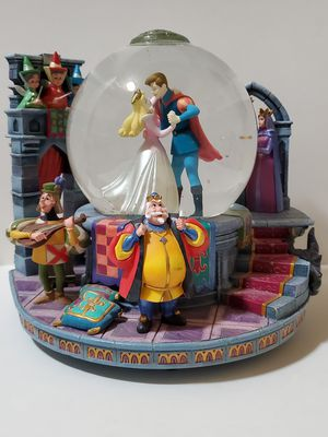 Disney 40th Anniversary Sleeping Beauty Light-Up and Musical Snowglobe for Sale in Newberry Springs, CA