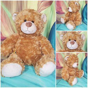 "16"" Build A Bear Classic Caramel Brown Shaggy Teddy Plush Stuffed BABW Soft EUC for Sale in Dale, TX"