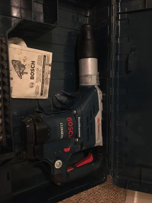 Bosch rotary hammer drill for Sale in Bakersfield, CA