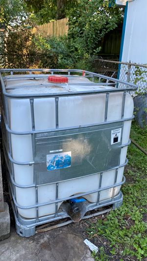Water Storage Container for Sale in Houston, TX