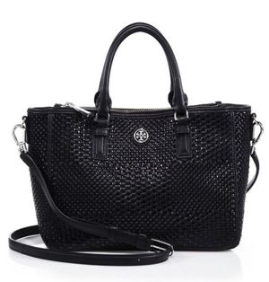 Tory Burch Woven Leather Tote‏ Shoulder Bag for Sale in Fairfax, VA