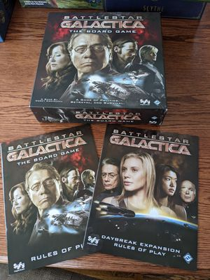 Battlestar Galactica Board Game with Daybreak Expansion for Sale in Evergreen, CO