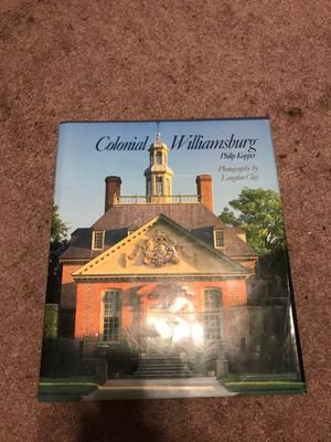 Colonial williamsburg Hardback 300+ pages 170+ illustrations for Sale in Winter Haven, FL