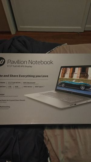 """HP pavilion notebook 17.3"""" brand new for Sale in San Diego, CA"""