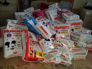 Huggies diapers all sizes 5 a bag each, Pull ups $6 per bag for Sale in Pompano Beach, FL