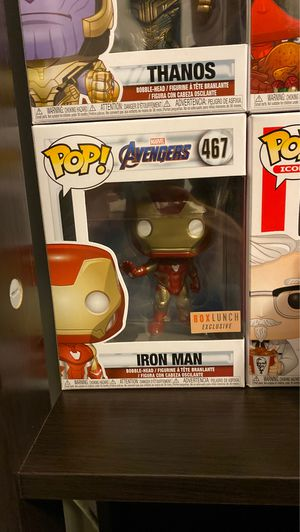 Iron man pop Funko Boxlunch Exclusive for Sale in Huntington Beach, CA