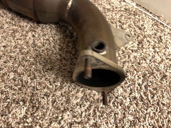 LTG motor downpipe (catted)