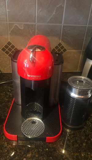 Nespresso vertuoline with frother . for Sale in North Potomac, MD
