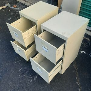 Two Drawr Files Cabinets for Sale in Victorville, CA