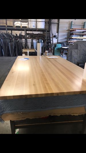 Butcher block counter top 80x48 x1.5 thick for Sale in Oregon City, OR