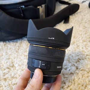 Sigma 50mm f/1.4 EX DG HSM Lens for Nikon Digital SLR Cameras for Sale in Cranford, NJ