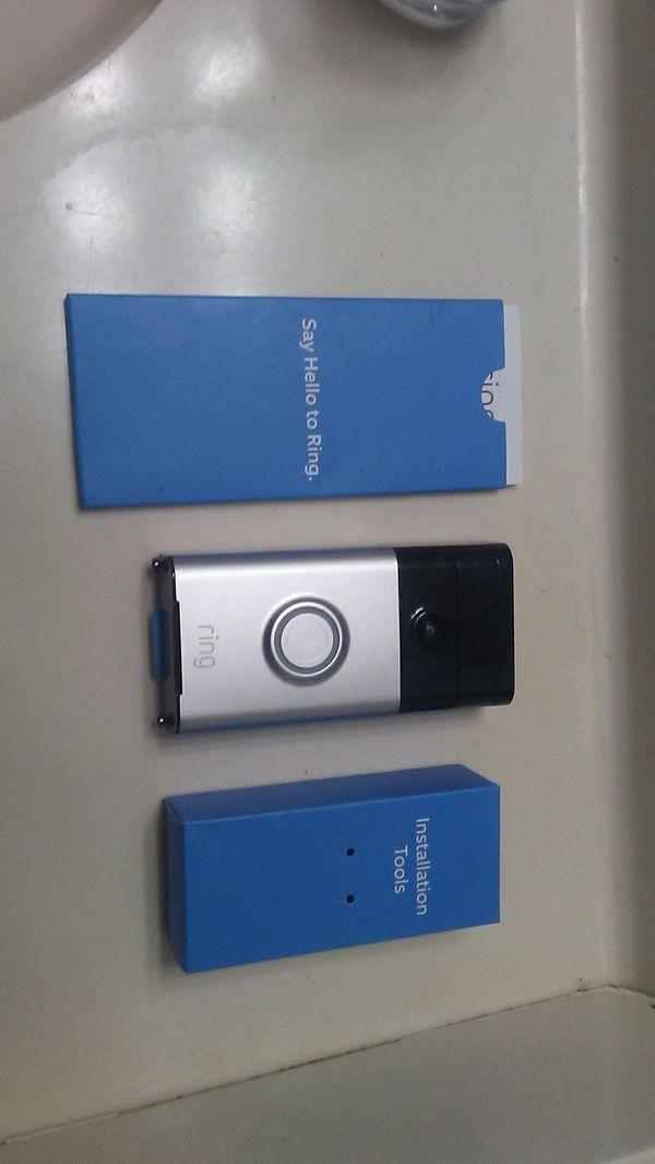 1080p Ring doorbell camera