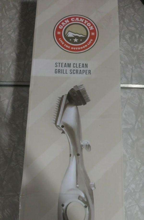 Gan Canyon Steam Clean Grill Scraper BBQ Cooking Tool