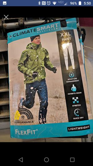 Men's xxl base layer for cold weather for Sale in Orlando, FL