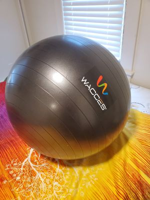 Wacces Heavy Duty exercise ball for Sale in Chicopee, MA