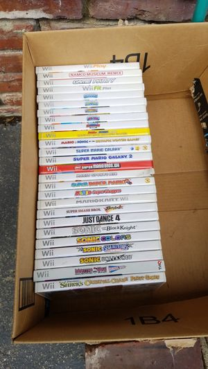 Wii video games for Sale in Pomona, CA