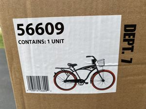 """BRAND NEW 26"""" Huffy Nel Lusso Cruiser with Perfect Fit Frame Bike Black for Sale in Bingham Farms, MI"""