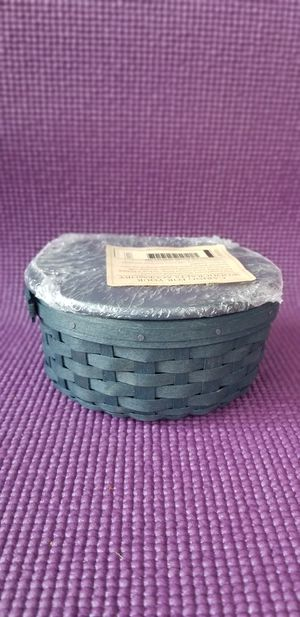 Longaberger Round Keeping Basket for Sale in Durham, NC